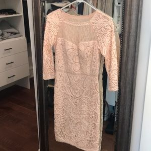 Sue Wong lace embellished dress